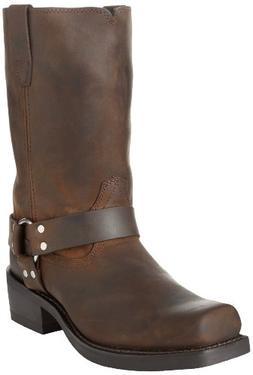 "Durango Men's DB594 11"" Harness Boot Distressed Brown 11 D -"