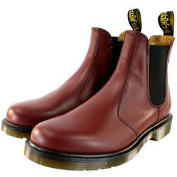 Dr. Martens Womens Airwair Leather Chelsea Style Low Heel An