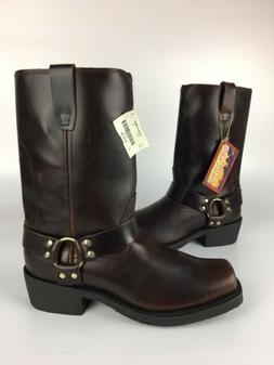 Durango Harness Boots Men's 11.5 EE Brown Leather Motorcycle