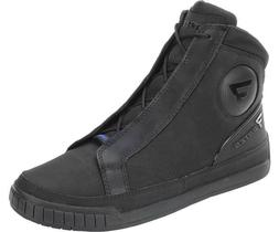 Bates E08812 Men's Phaser WP Riding Black Footwear Motorcycl
