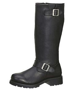 AdTec Men's Engineer Motorcycle Boot 16'' High Quality Leath