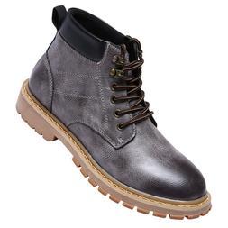 <font><b>Men</b></font> Leather Ankle <font><b>Boots</b></fo
