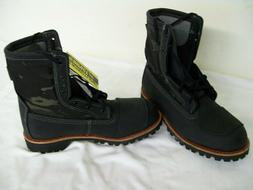 Bates Bomber Motorcycle Boots Black Camo / Camouflage Men's