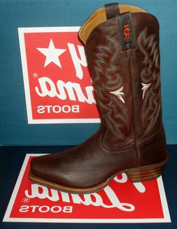 "TONY LAMA FRIO 3R4028 MEN'S 13"" Brown Western Cowboy Motorcy"