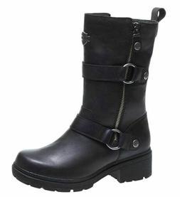 harley davidson ardsley black leather riding boots