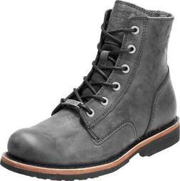 Harley-Davidson Men's Burdon 6-In Grey or Brown Lace-Up Moto