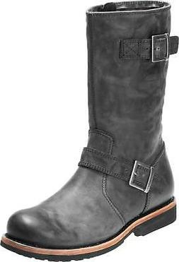 Harley-Davidson Men's Dellridge 10.75-Inch Grey or Brown Mot