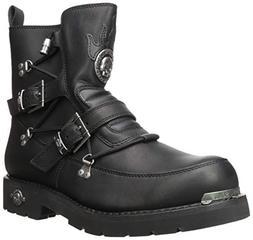 Harley-Davidson Men's Distortion Motorcycle Boot, Black, 14.