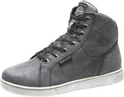 HARLEY-DAVIDSON FOOTWEAR Men's Midland Waterproof Gray Motor