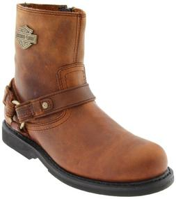 Harley-Davidson Men's Scout Motorcylce Harness Boot, Black,