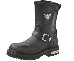 Harley-Davidson Men's Shift Motorcycle Boot,Black,9 M US
