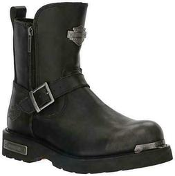 Harley-Davidson Men's Startex Black Leather Motorcycle Boots