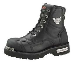 Harley-Davidson Men's Stealth Motorcycle Boots. Patch Lace B