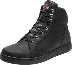 Harley-Davidson Men's Watkins 4.25-Inch Black Leather Motorc