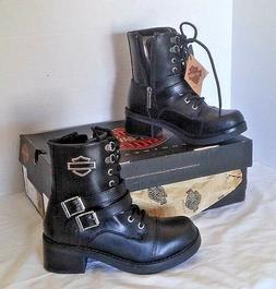 Harley Davidson NEW woman's boots biker rider size 5 black M