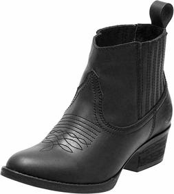 Harley-Davidson Women's Curwood Black Motorcycle Riding Boot