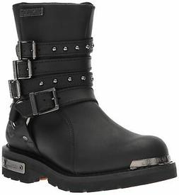 Harley-Davidson Women's Eddington Black Leather Motorcycle B