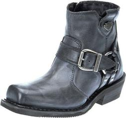 Harley-Davidson Women's Newhall Motorcycle Riding Black Leat