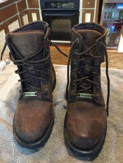 harley davidson womens boots size 7. Worn one time paid 150.