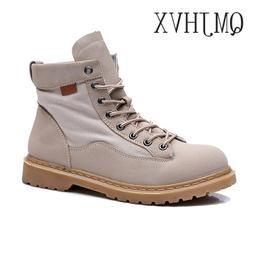 QMJHVX High Quality Leather martin <font><b>boots</b></font>