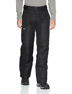 Arctix Men's Essential Snow Pants, Black, Large/Tall