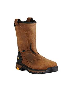 Men's Ariat Intrepid H2O Composite Toe Boot, Size 14 W - Bro