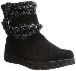 Skechers Women's J'Adore Boot,Black/Black,7.5 M US