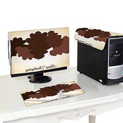 Miki Da Keyboard dust Cover Computer 24''MonitorSet Acor
