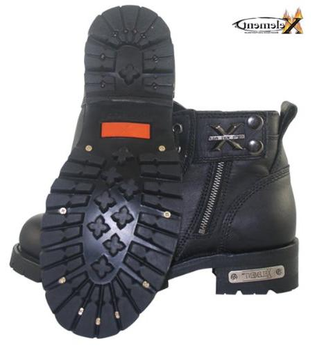 Xelement Mens Advanced Lace Motorcycle Boots
