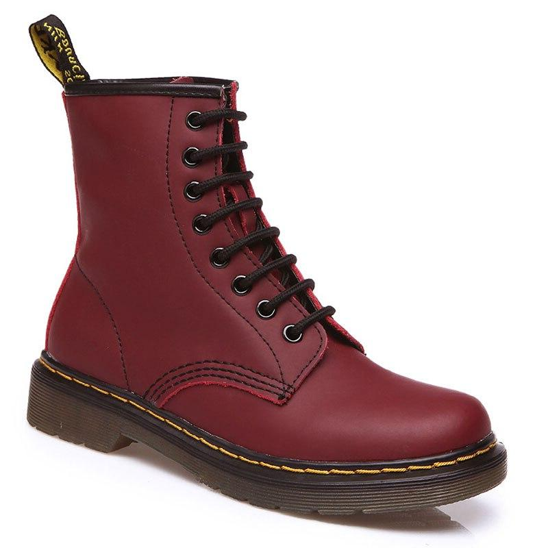 2019 <font><b>Boots</b></font> Genuine Leather For Winter <font><b>Boots</b></font> Shoes <font><b>Casual</b></font> Spring Genuine Leather Mujer Ankle