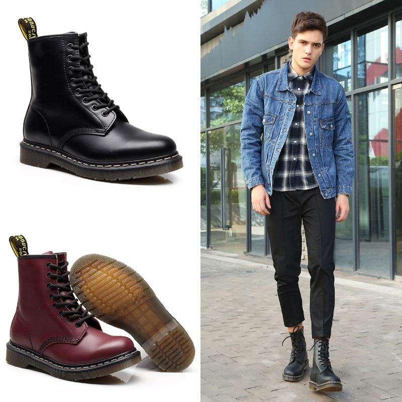 2019 For Shoes Adult <font><b>Boots</b></font> Winter Shoes Men