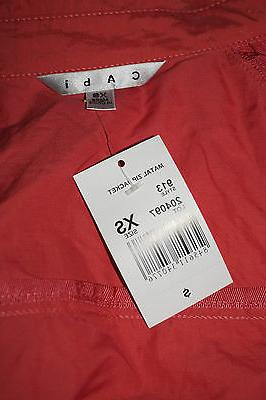 CAbi Jacket XS Asymmetric Top Brand