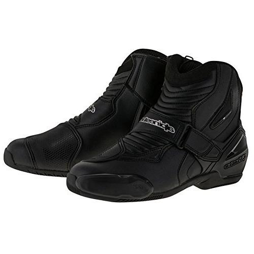 Alpinestars Men's SMX-1 R Black Boots 3401-0402
