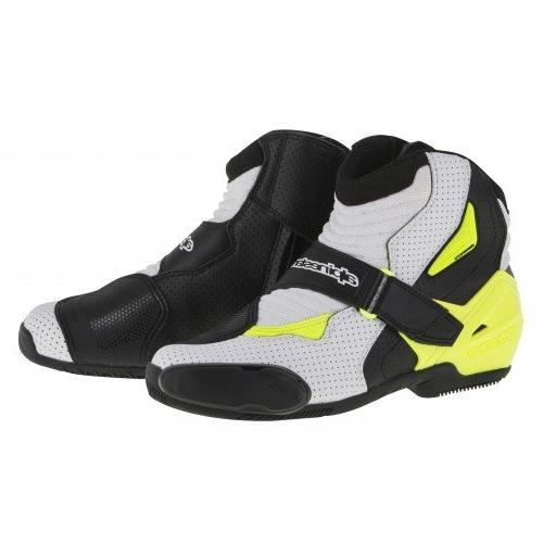 Alpinestars SMX-1R Vented Men's Street Motorcycle Boots - Bl