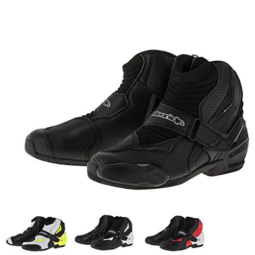 Alpinestars SMX-1R Vented Men's Street Motorcycle Shoes - Bl