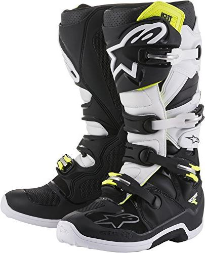 Alpinestars Tech 7 Motocross Off-Road Motorcycle Boots, Blac