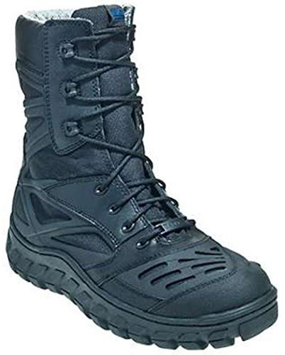 Bates Men's Reyes High Motorcycle Boot,Black,11 M US
