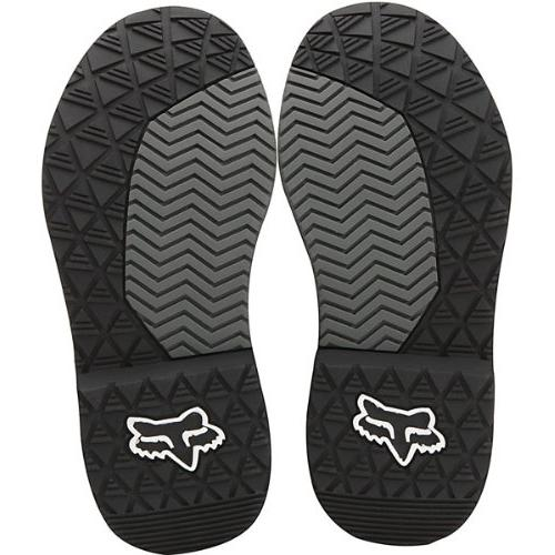 Fox Pee Comp Off-Road/Dirt Boots - Black/Silver/Size
