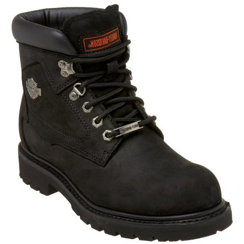 harley davidson men s badlands boot black