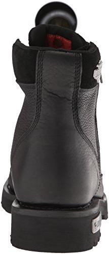 Harley-Davidson Chipman Motorcycle Boot, Black, US
