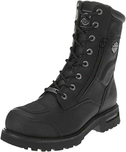 Harley-Davidson Men's Riddick Lace-UP Black Boots D98308