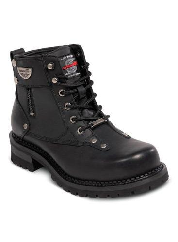 men s outlaw motorcycle boots black size