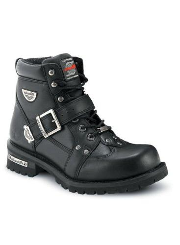 men s road captain motorcycle boots size
