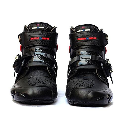 NEW Motorcycle Racing Boots Black