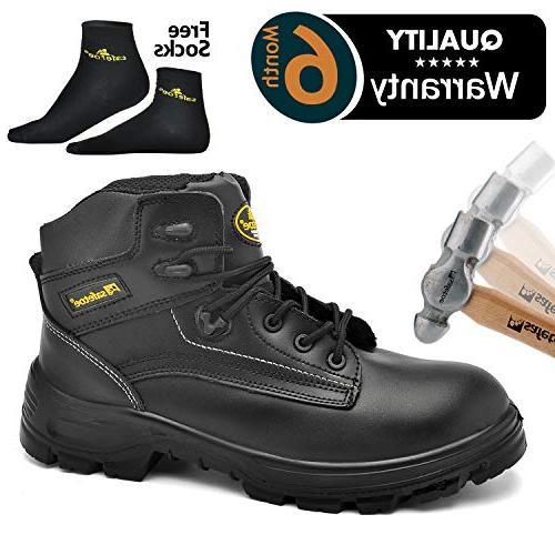 men s steel toe work boots water