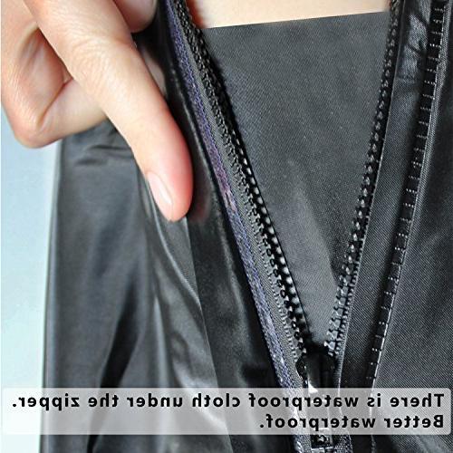 USHTH Black Rain Boot Cover reflector )