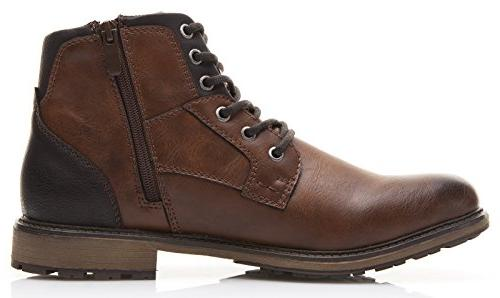 XPER Brown Lace Winter Boots