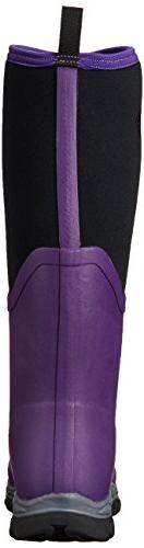 Muck Boot Women's Sport Tall Snow, Acai Purple/Black, M US