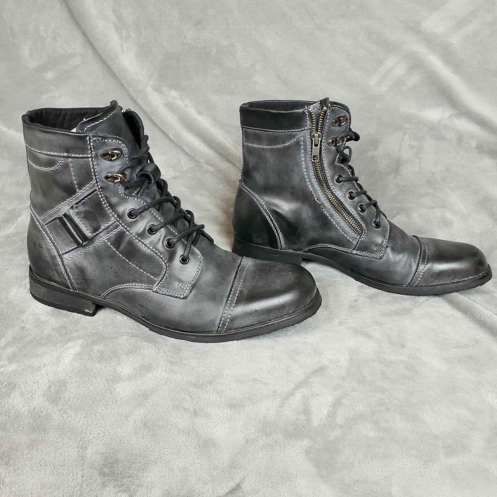 BED STU Ash Rustic Leather 11.5