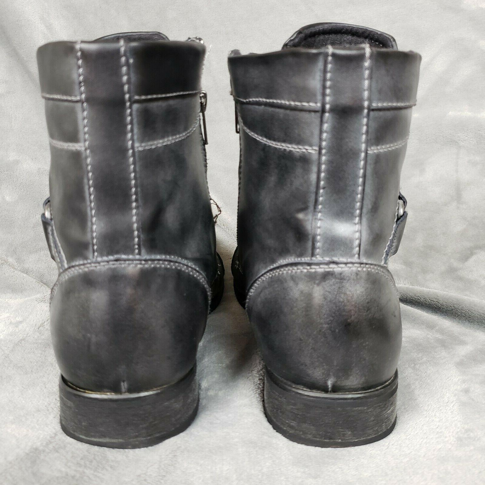 BED STU Rustic Leather Boots Size 11.5